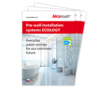 Pre-wall installation systems ECOLOGY
